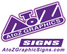 AtoZ Graphics SIGNS